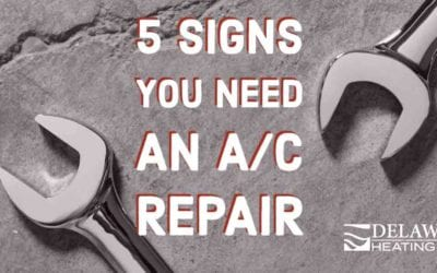 5 Signs You Need an AC Repair